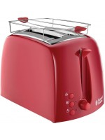 Russell Hobbs 21642-56 Toaster Grille-Pain Texture -Rouge