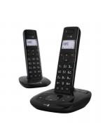 Téléphone Sans Fil Dect DORO 1015 Duo – Noir