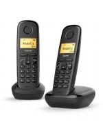 Téléphone sans fil Gigaset Duo A170 – Noir